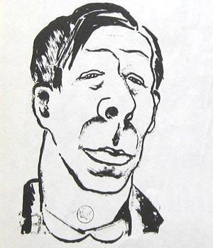 Карикатуры на писателей. Изображение № 22.
