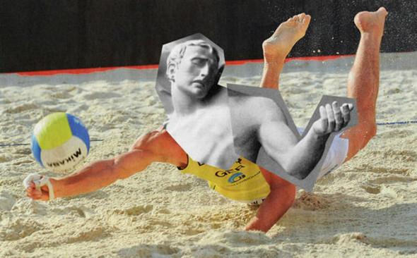 Новая атлетика: Олимпийские виды спорта в коллажах Йена Ульриха. Изображение № 7.