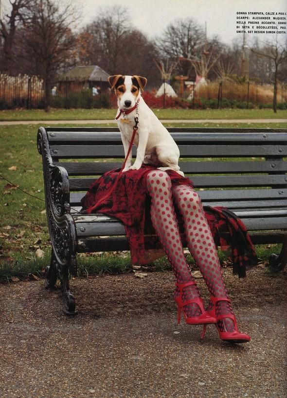 Архивная съёмка: Тим Уокер для итальянского Vogue за 2002 год. Изображение № 4.
