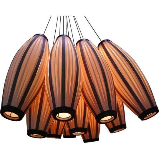 Скульптурные светильники из фанеры от Passion 4 Wood. Изображение № 1.