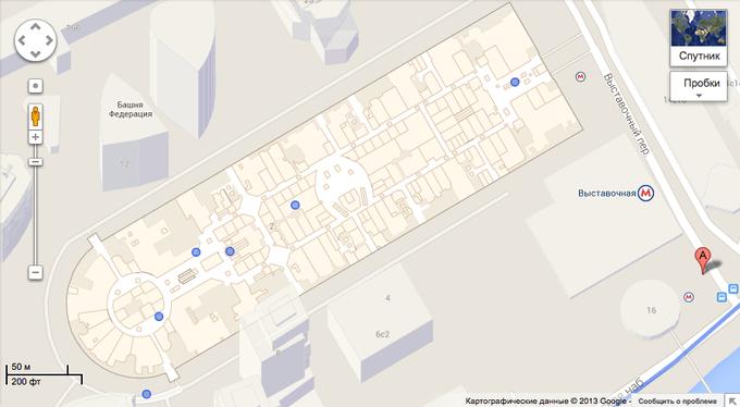 В Google Maps появились схемы российских зданий. Изображение № 1.