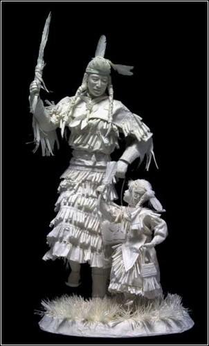 Бумажные скульптуры. Изображение № 32.