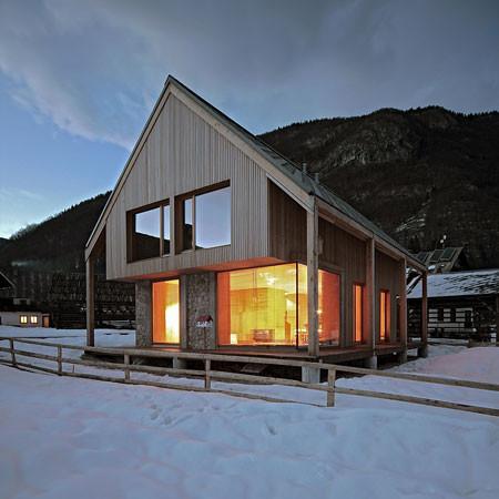 Альпийский домик. Изображение № 1.