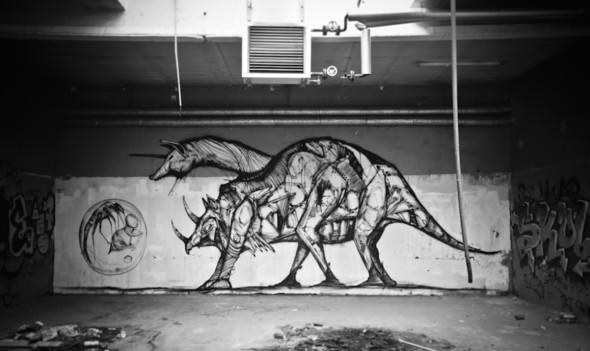 Стрит-арт от Iemza. Изображение № 15.