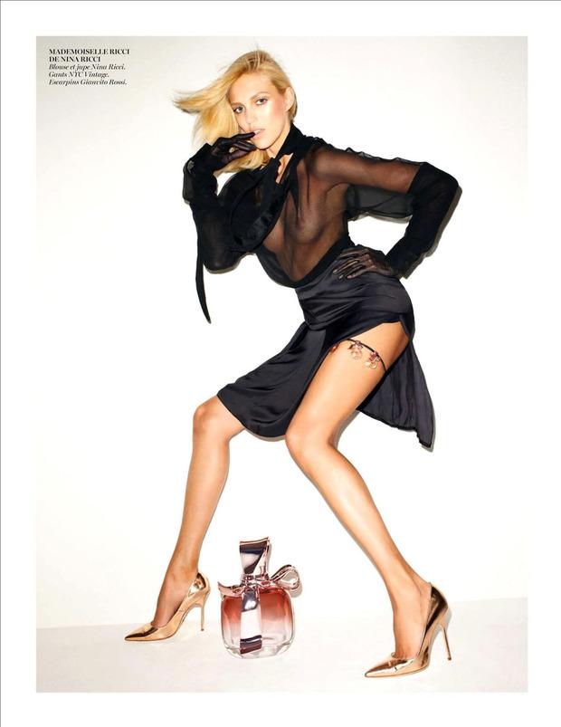 Вышли новые съемки из Bon, Flair, Vogue и других журналов. Изображение № 57.