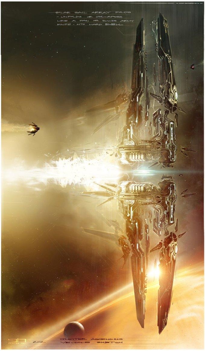 Художник «Восхождения Юпитер» выложил концепты к фильму. Изображение № 32.