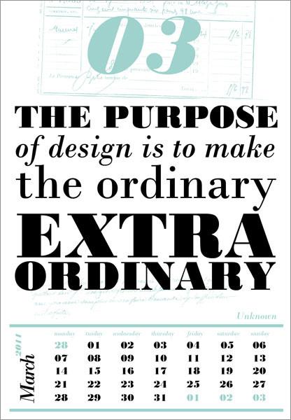 Календарь для дизайнеров от Harmonie Interieure. Изображение № 4.