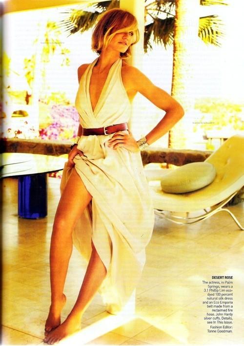 Cameron Diaz, Vogue USJune 2009. Изображение № 3.