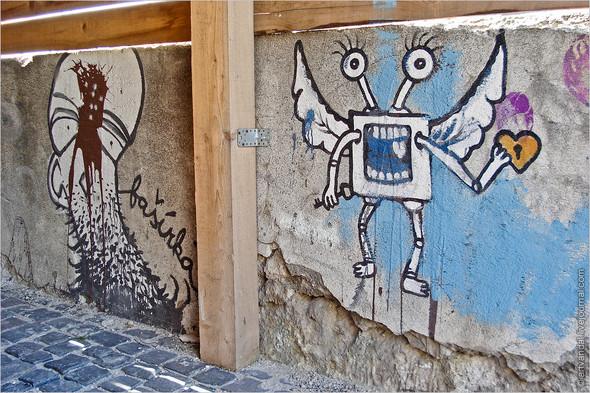 Стрит-арт и граффити Братиславы, Словакия. Изображение № 7.