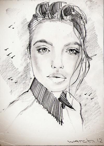 Sketch portraits. Изображение № 10.