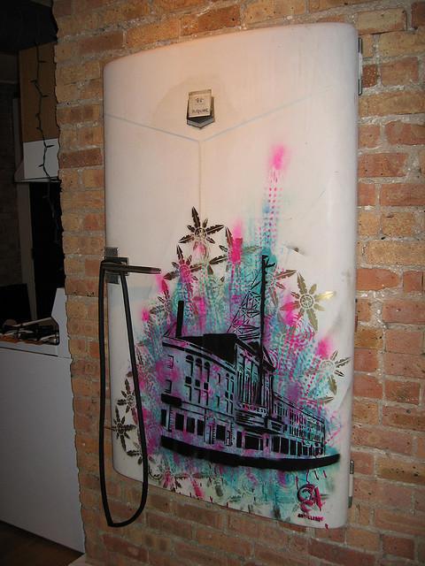 Изображение 5. 50 холодильников, которые можно назвать арт-объектами.. Изображение № 5.