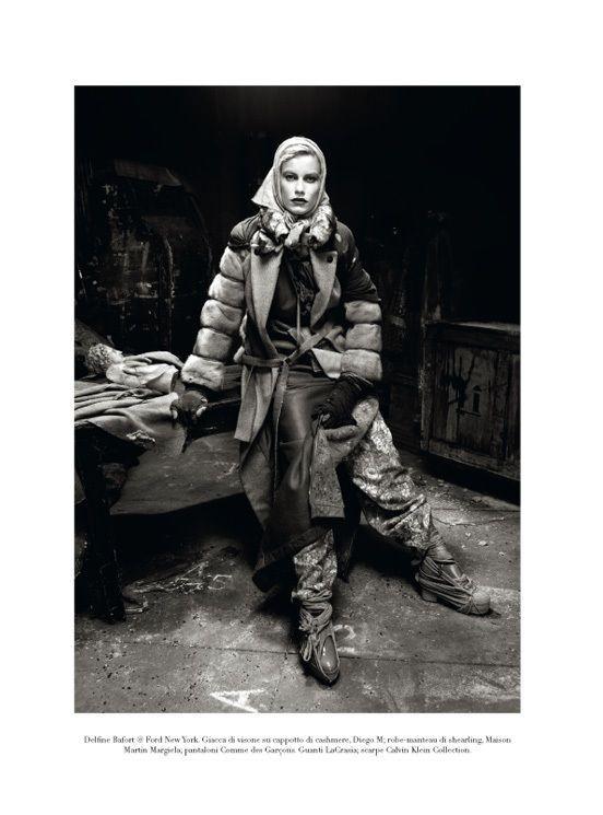 "Съёмка: ""Winter's Edge"" by Steven Meisel. Видите Россию?. Изображение № 5."