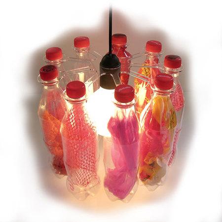 Люстры избутылок. Изображение № 3.