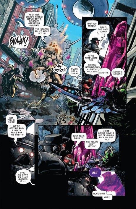 «Никаких зомби и супергероев»: Интервью с создателями комикса Shutter. Изображение № 13.
