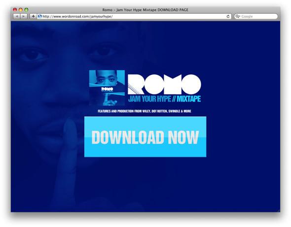 Микстейп: «Jam Your Hype» от англичанина Romo. Изображение № 2.