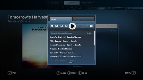 В Steam появится аудиоплеер. Изображение № 6.