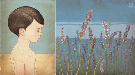 Красивое изабавное виллюстрациях Richarda Wilkinsona. Изображение № 28.