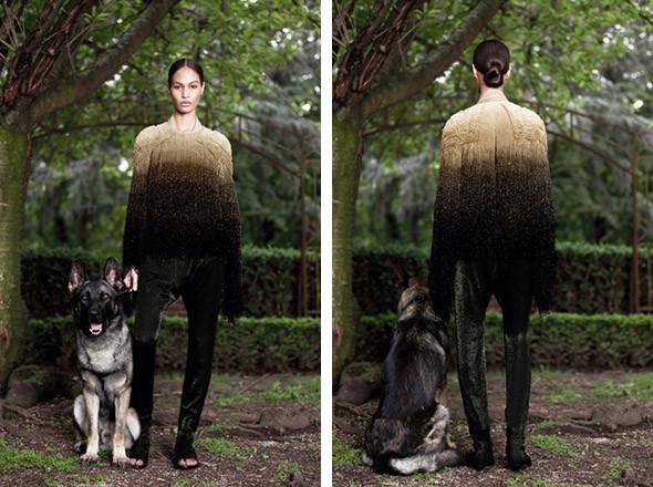 Кутюр в деталях: Маски, бисер и кожа в коллекции Givenchy. Изображение № 19.