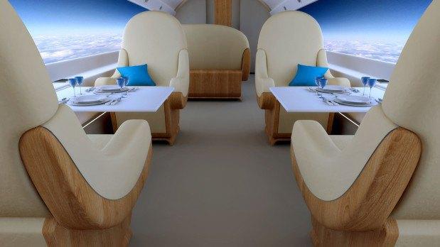 В сверхзвуковых самолётах окна заменят на дисплеи. Изображение № 2.