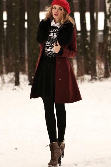 Anna — пальто h m ботильоны colin stuart юбка