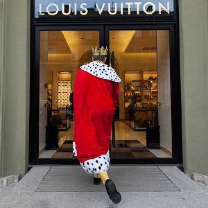 Активист Гринпис пикетирует у бутика Louis Vuitton — Город на The Village