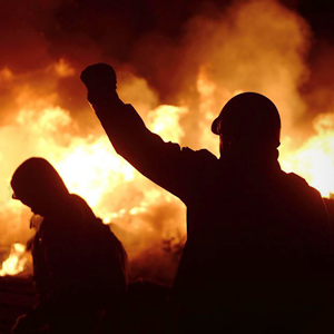 Штурм Майдана — Фоторепортаж на The Village