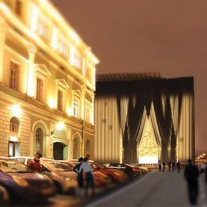 Архитекторы придумали, как замаскировать Мариинку-2 — Архитектура на The Village
