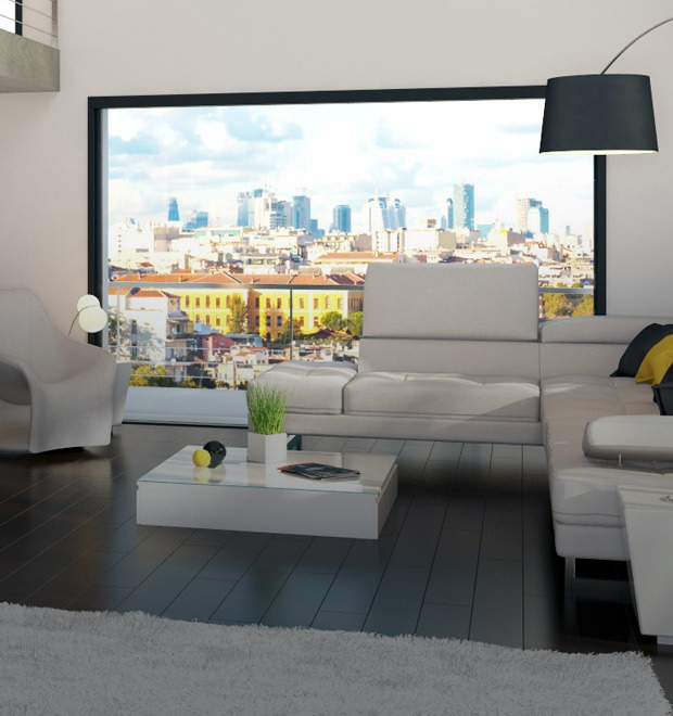 Duplex Apartment with smart technologies