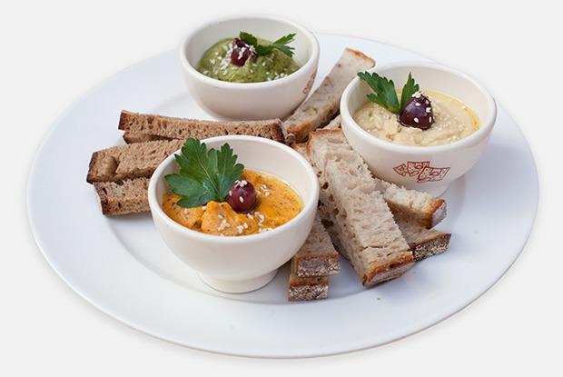 Мятный, тыквенный и классический хумус — Рецепты шефов на The Village