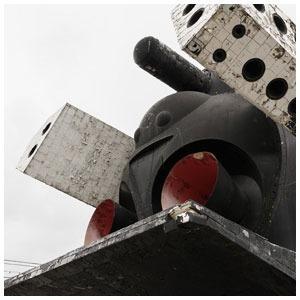 Разобранный «Буран» в парке Горького — Фоторепортаж на The Village