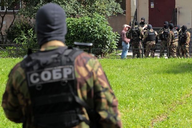 Что известно о захвате боевиков в Петербурге
