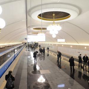 Фоторепортаж: В Киеве открылась новая станция метро — Фоторепортаж на The Village