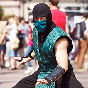 Люди в городе: Участники «Гик-парада» в Петербурге