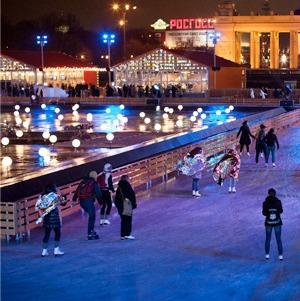 10 фактов о зимнем сезоне в парке Горького — Город на The Village