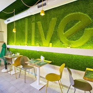 Новое место (Киев): Кафе Ilive — Новое место на The Village