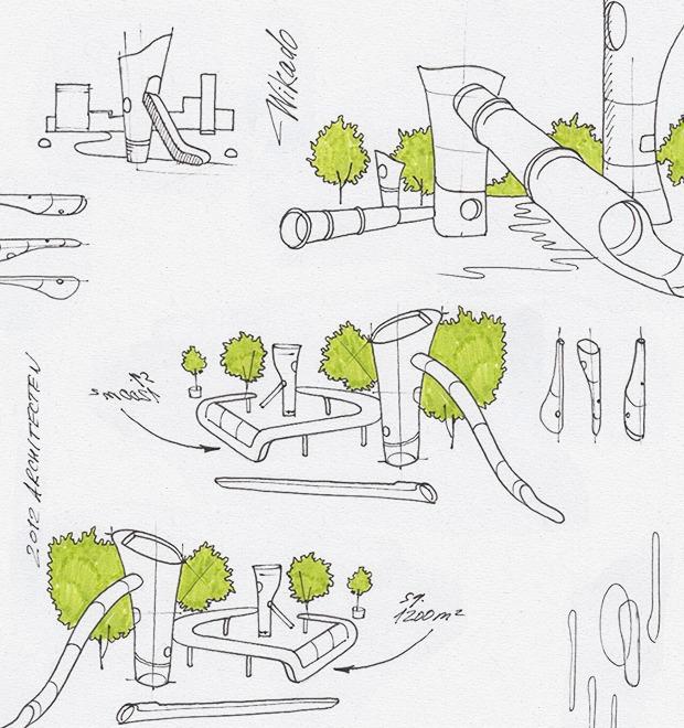 Идеи для города: Детская площадка из крыльев ветряной мельницы в Роттердаме — Город на Look At Me