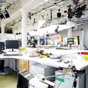Офис недели: телеканал «Дождь» — Интерьер недели на The Village