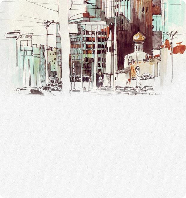 Клуб рисовальщиков: «Белая площадь» — Клуб рисовальщиков на The Village