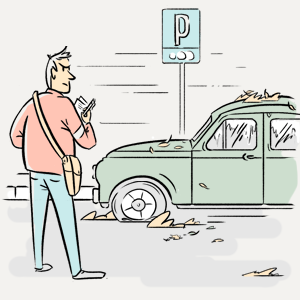 Что происходит с машинами, забытыми на платной парковке? — Есть вопрос translation missing: ru.desktop.posts.titles.on The Village
