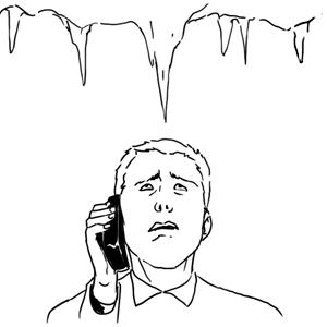 Личный опыт: Как заставить чиновника сбить сосульку? — Ситуация на The Village