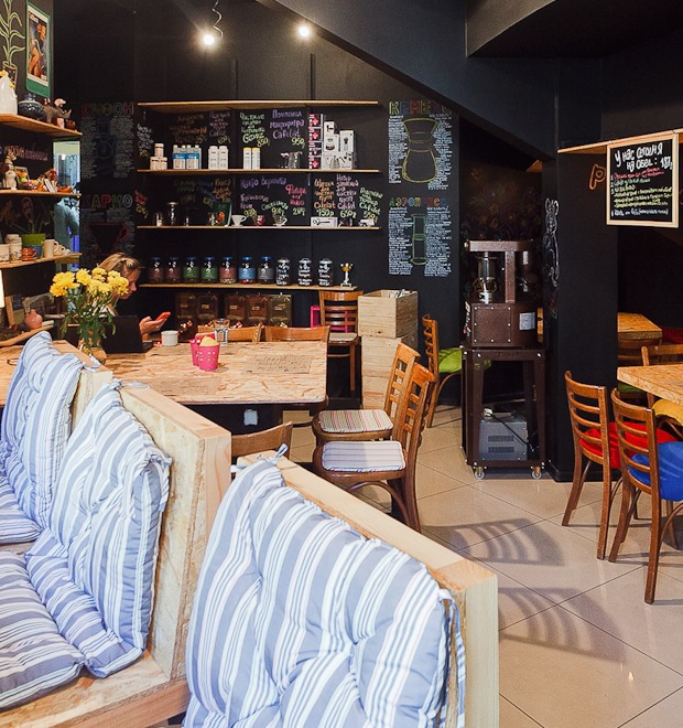 Новое место: Кофейня «ДоМоД» — Рестораны на The Village