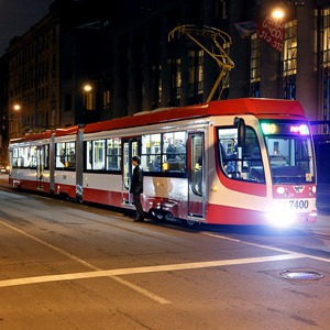 В городе появились первые скоростные трамваи — Транспорт на The Village