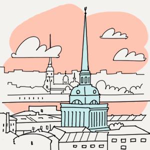 10 апреля  — Утро в Петербурге translation missing: ru.desktop.posts.titles.on The Village
