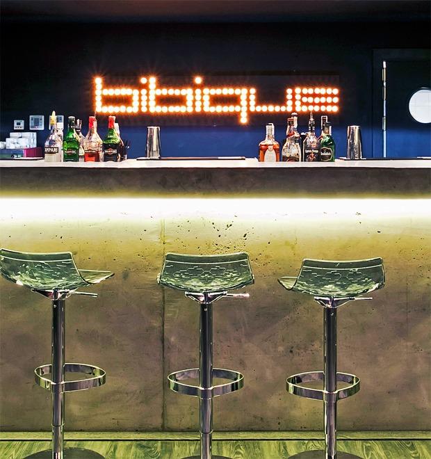 Новое место (Киев): Bibique Bar — Новое место на The Village