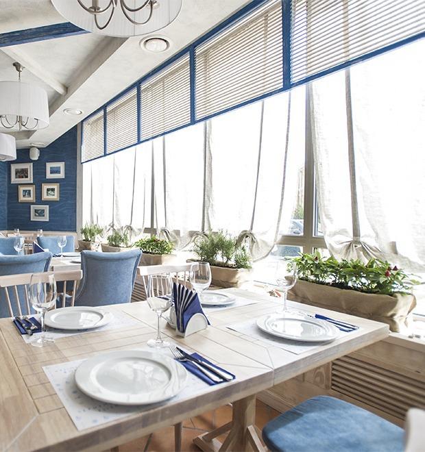 Новое место (Киев): Ресторан «Баркас. Рыба и вино» — Новое место на The Village