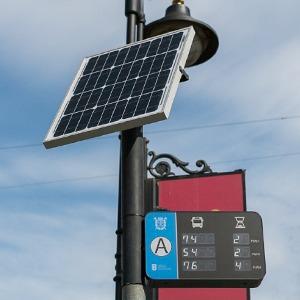 Как работают транспортные табло на солнечных батареях — Город translation missing: ru.desktop.posts.titles.on The Village
