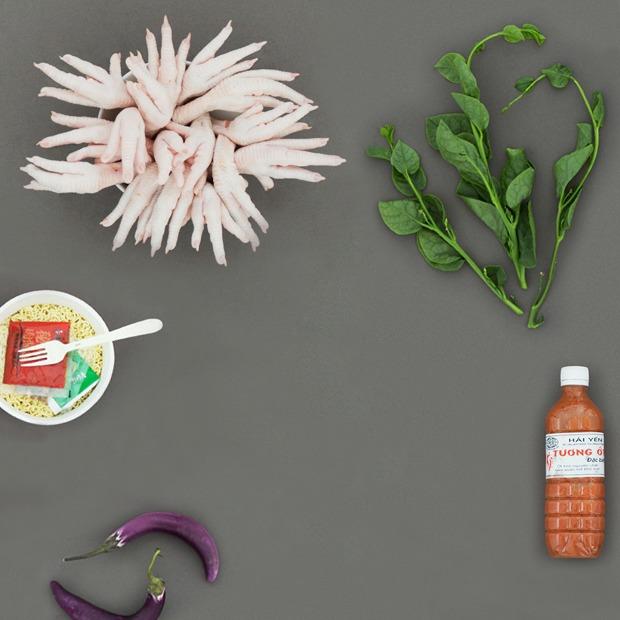 48 продуктов с вьетнамского рынка в Люблине