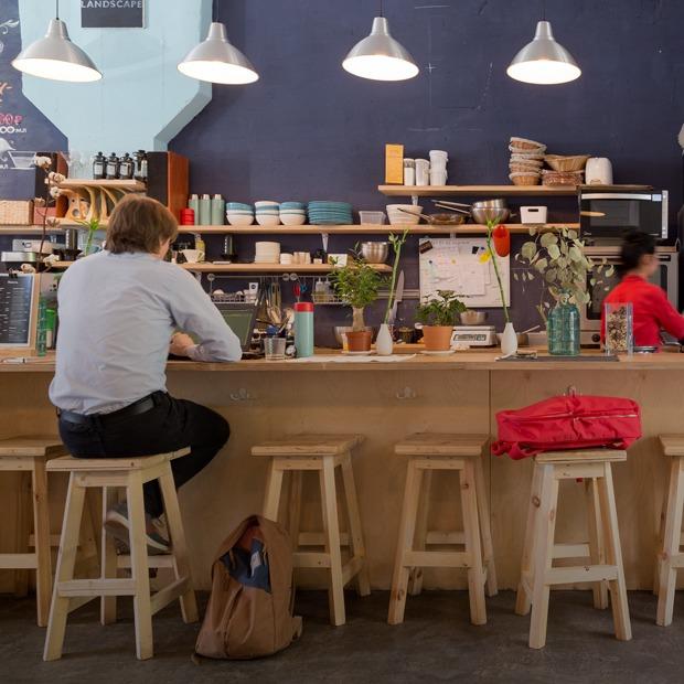 Кафе «Дринкит» на  2-й Звенигородской улице — Место на The Village