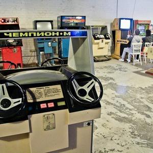 Музей советских игровых автоматов открылся на новом месте