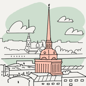18 июля — Утро в Петербурге translation missing: ru.desktop.posts.titles.on The Village